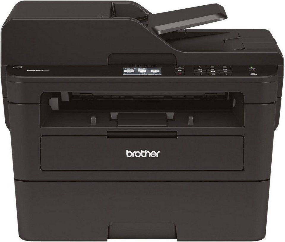 brother monolaser multifunktionsdrucker mfc l2730dw 4in1. Black Bedroom Furniture Sets. Home Design Ideas