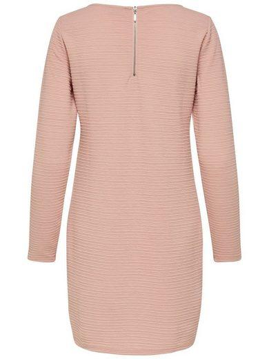 Jacqueline de Yong Sweat Kleid mit langen Ärmeln