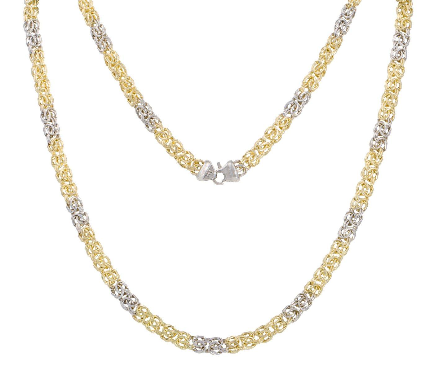 Firetti Königskette »zweifärbig« | Schmuck > Halsketten > Königsketten | Firetti