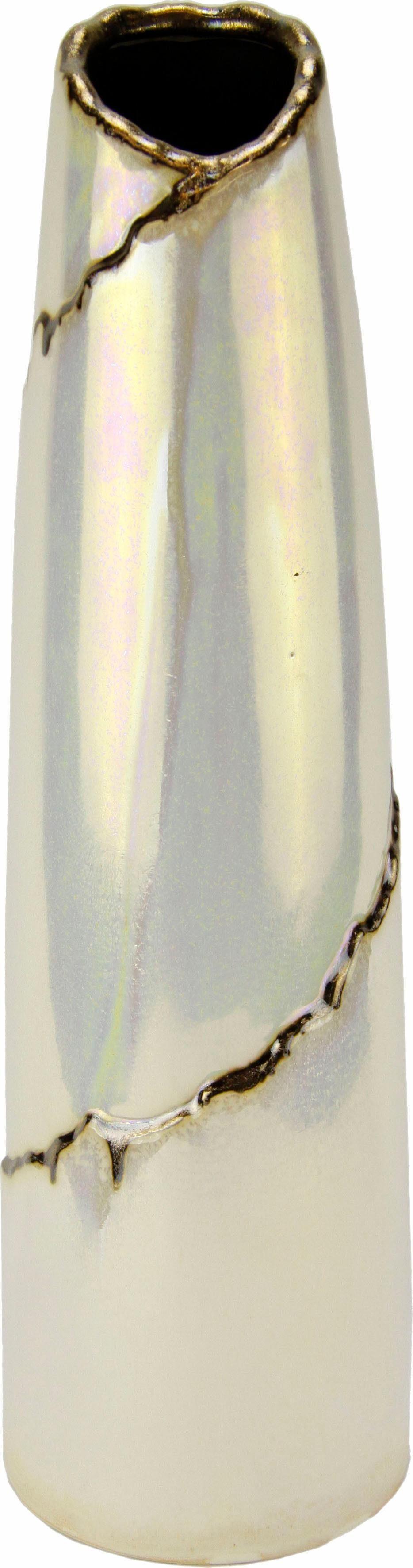 Home Affaire Keramik-Vase de Luxe 39/11cm