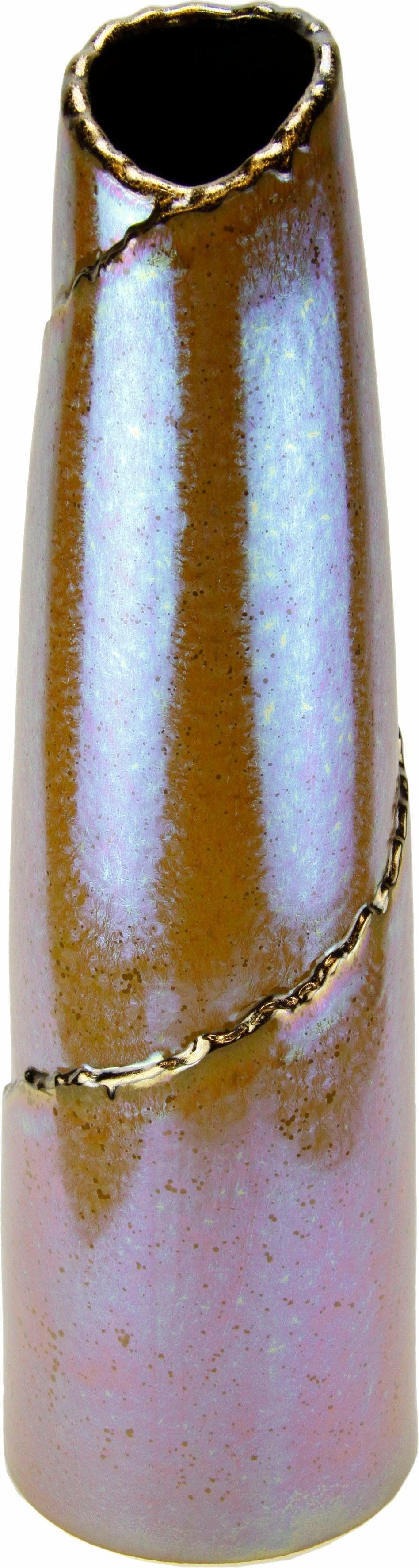 Home Affaire Keramik-Vase de Luxe 50/13cm