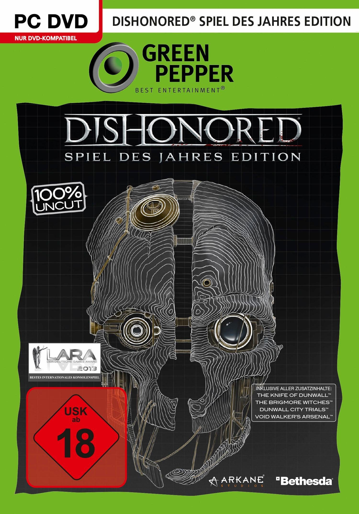 Dishonored - Spiel des Jahres Edition PC, Software Pyramide