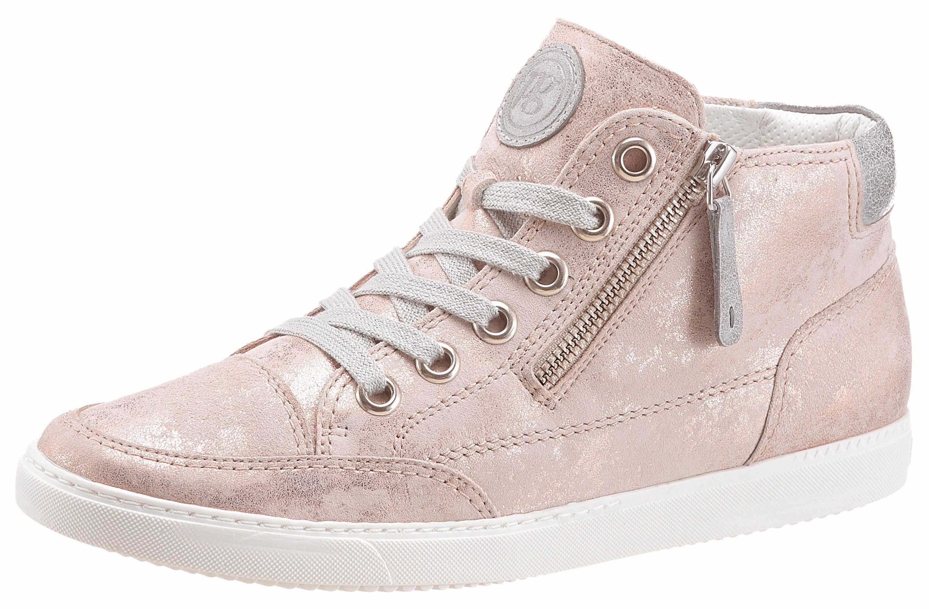 Paul Green Sneaker, mit Außenreißverschluss kaufen  creme-roségoldfarben