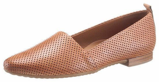 Paul Green Slipper, mit feiner Perforation