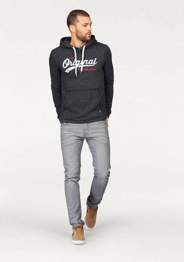 Tom Tailor Denim Kapuzensweatshirt, mit Frontprint
