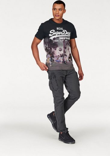 Superdry T-Shirt VINTAGE LOGO PHOTOGRAPHIC TEE