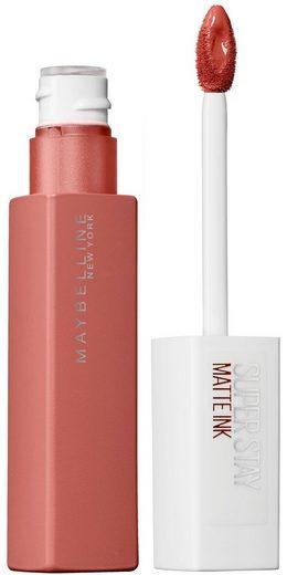 MAYBELLINE NEW YORK Lippenstift »Superstay Matte Ink Unnude«