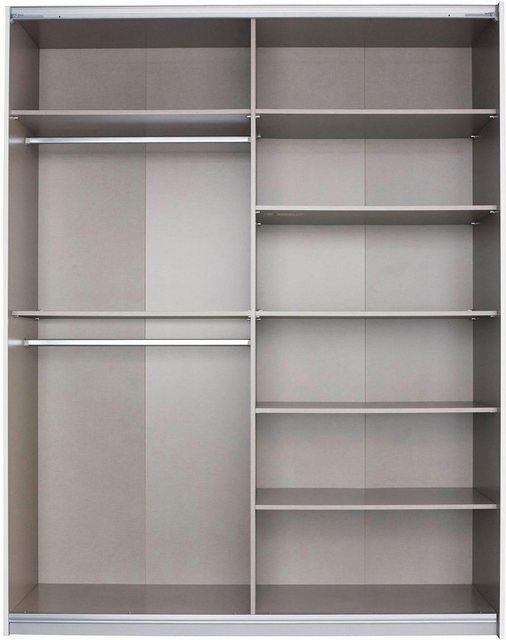 rauch ORANGE Schwebetürenschrank »Steinheim« mit praktischen Metalleinhängeelementen | Schlafzimmer > Kleiderschränke > Schwebetürenschränke | rauch ORANGE