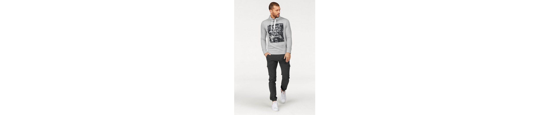 Tom Tailor Denim Kapuzensweatshirt, mit Fronprint