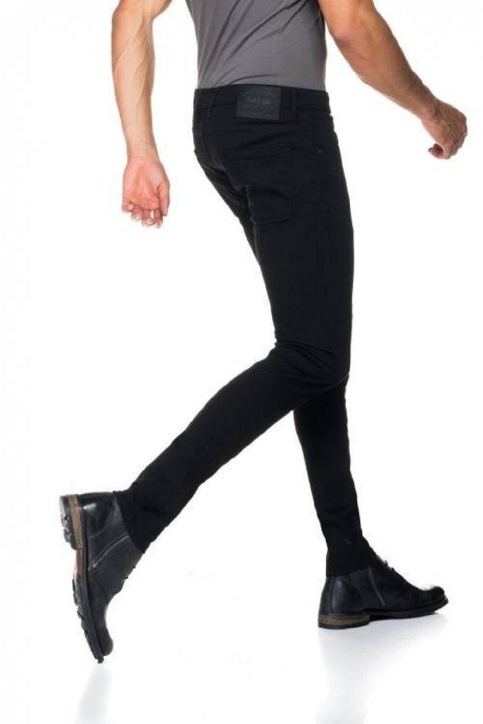 Herren salsa jeans Jean Kurt schwarz | 05604562529518