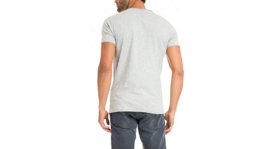 Shirt BEACH jeans salsa PALM T jeans salsa kurzarm zgwqPI