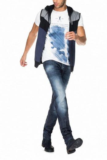 salsa jeans T-Shirt, kurzarm PALM BEACH