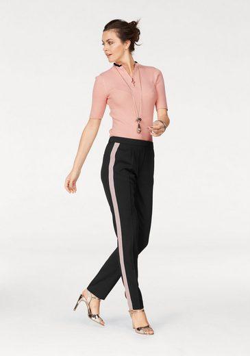 Laura Scott Anzughose, mit Go-Faster Streifen