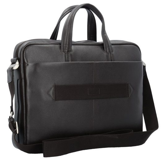 Piquadro Businesstasche Leder 39 cm Laptopfach