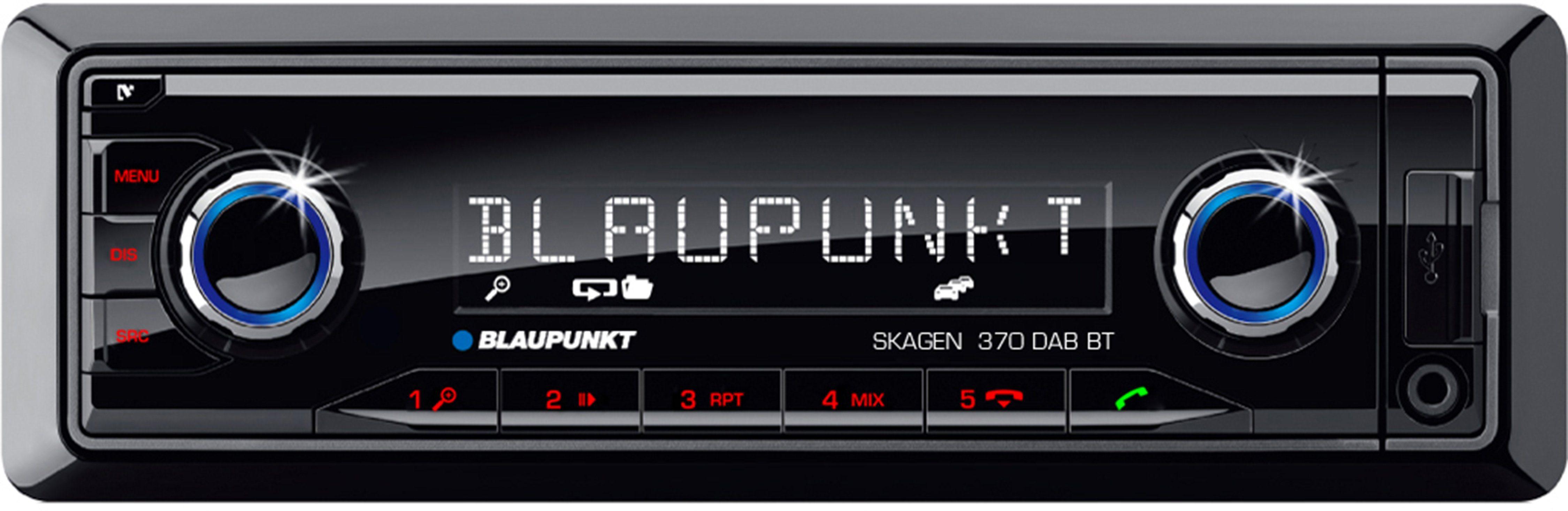 Blaupunkt 1-DIN Autoradio mit Bluetooth 2.0, USB- und SD-Anschluss »Skagen 370 DAB BT«