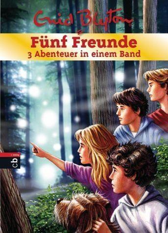 Gebundenes Buch »Fünf Freunde - 3 Abenteuer in einem Band /...«