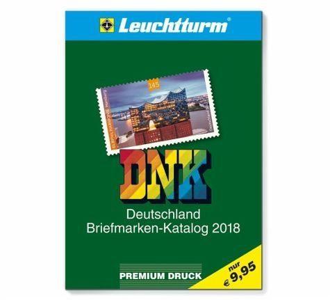 Broschiertes Buch »DNK - Deutschland Briefmarkenkatalog 2018«