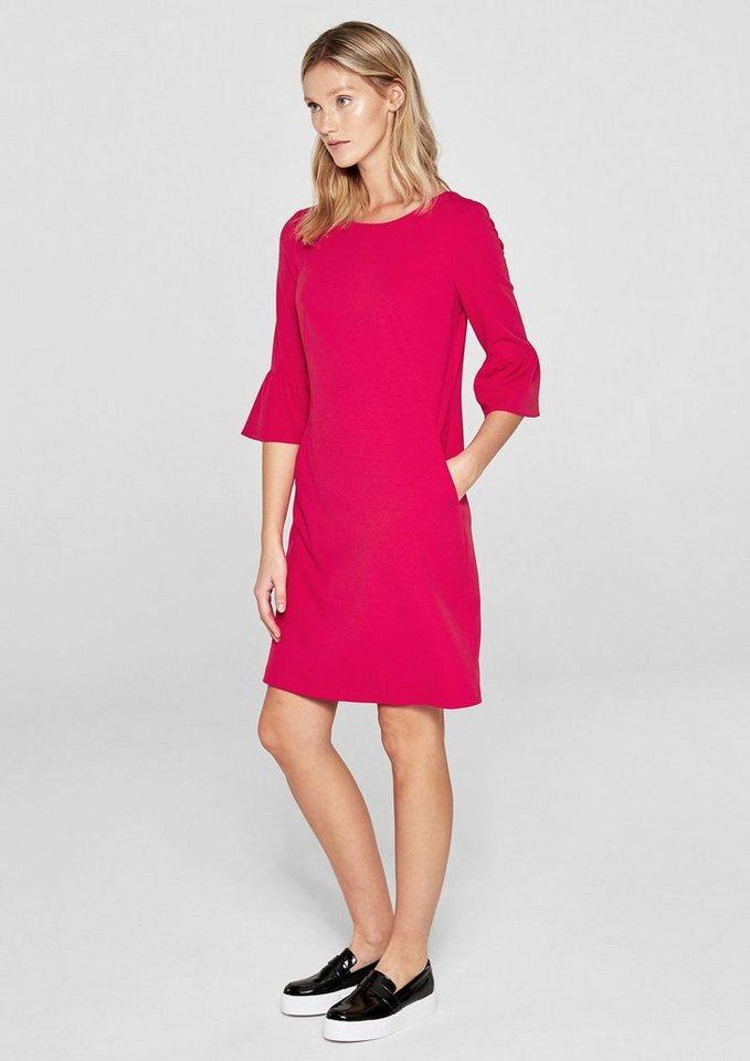 Kleid pink volant