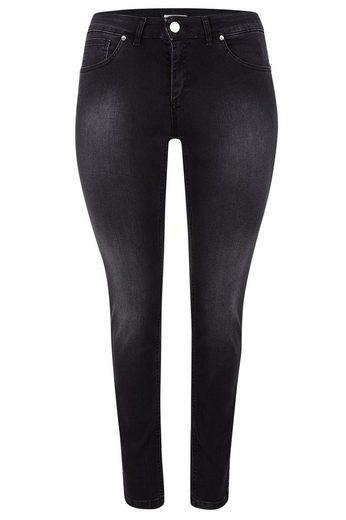 Belloya 5-Pocket-Jeans, mit Perlendetail