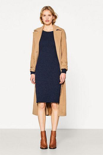 Esprit Jacquard Dress Of Dense Heavy Jersey