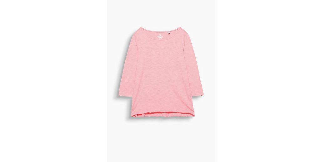 Auslass Wirklich Versand Outlet-Store Online ESPRIT Softes Slub-Shirt mit Organic Cotton Verkauf Für Schön UJoBWQAauN