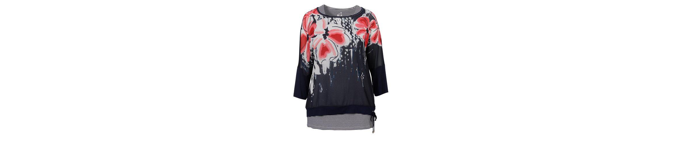 Freies Verschiffen Niedrigsten Preis VIA APPIA DUE Raffiniertes 2-in-1 Shirt im Mustermix Verkauf Outlet Top-Qualität ADbbIArg