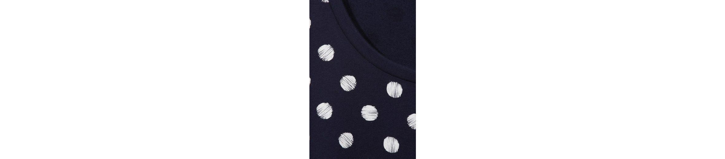 VIA APPIA DUE Légères Sweatshirt mit Dot-Muster Günstiger Preis Niedrig Versandgebühr 7FnK1Vmhq