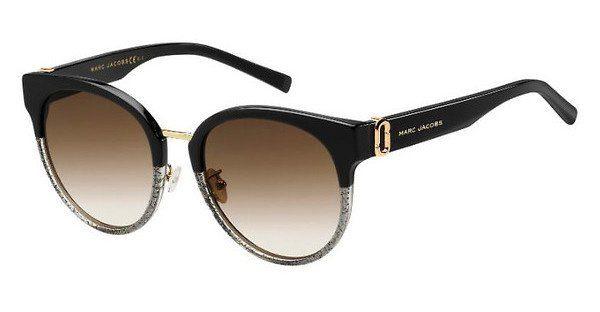 MARC JACOBS Marc Jacobs Damen Sonnenbrille » MARC 249/F/S«, schwarz, NS8/HA - schwarz/braun