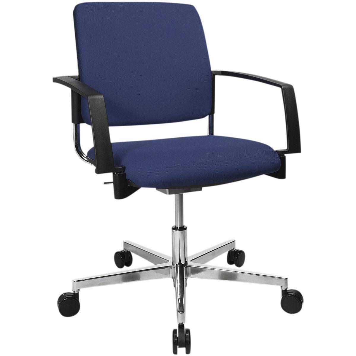 Topstar Besucherstuhl höhenverstellbar »BtoB 40«   Büro > Bürostühle und Sessel  > Besucherstühle   Aluminium   TOPSTAR