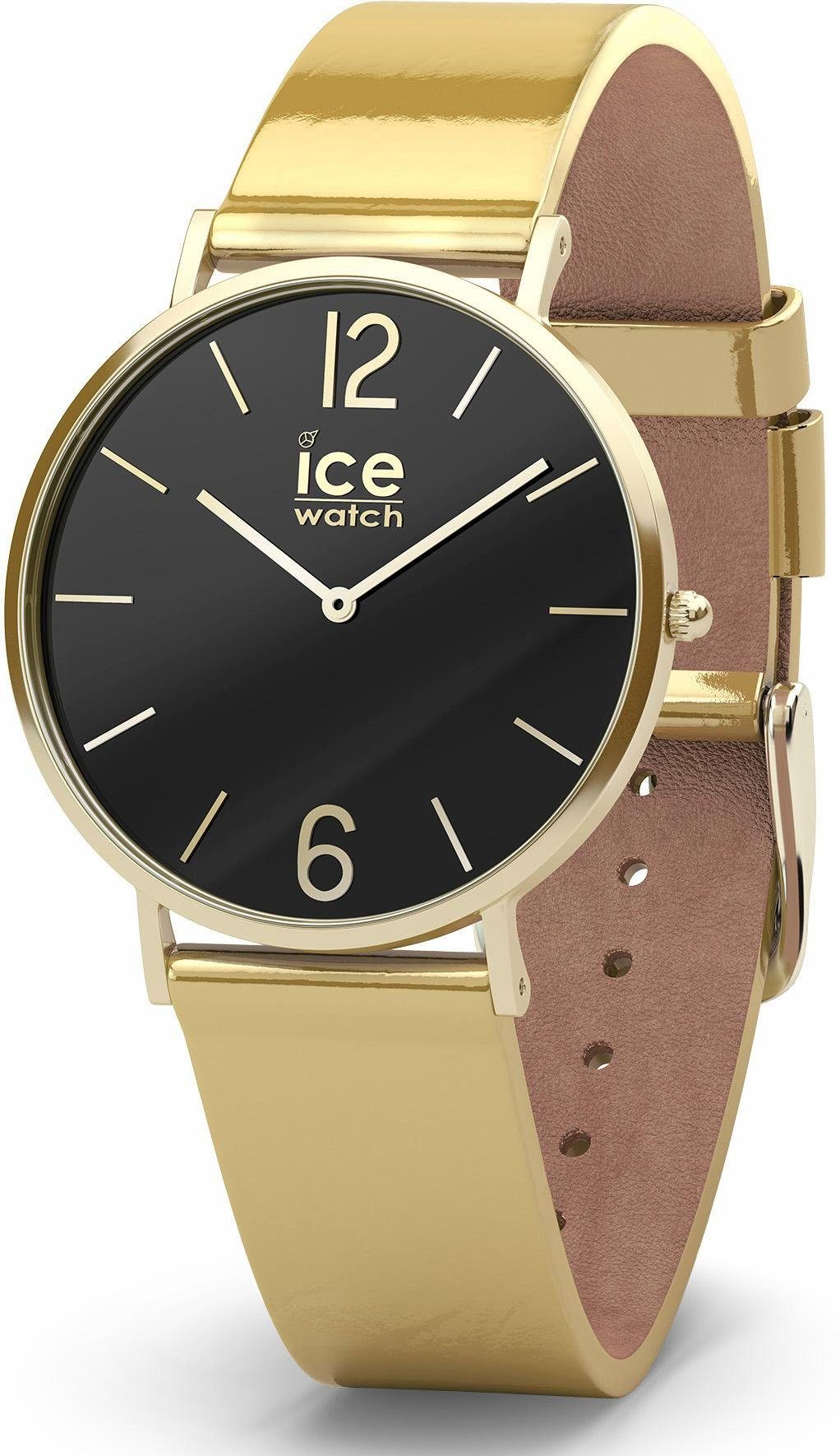 ice-watch Quarzuhr »CITY sparkling - Metal Gold - Small - 2H, 015090«