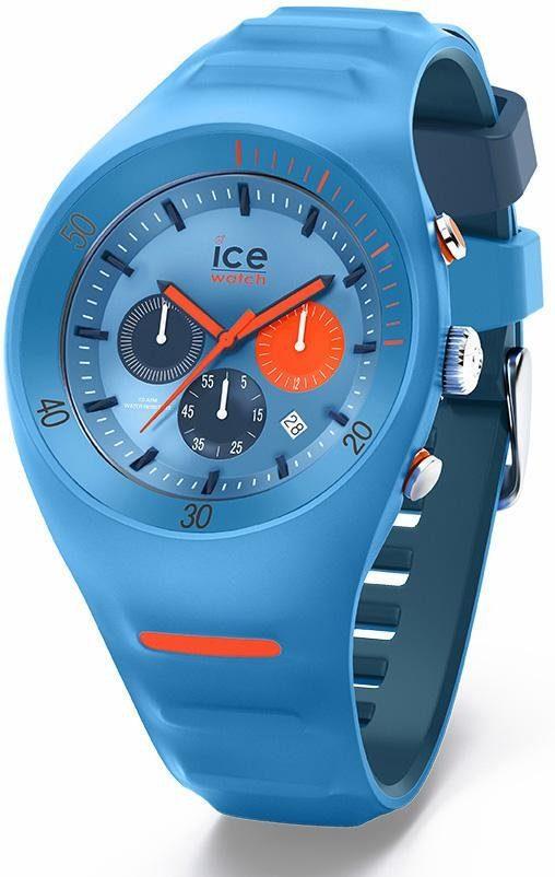 ice-watch Chronograph »Pierre Leclercq - Large - Chronograph - Light Blue, 014949«