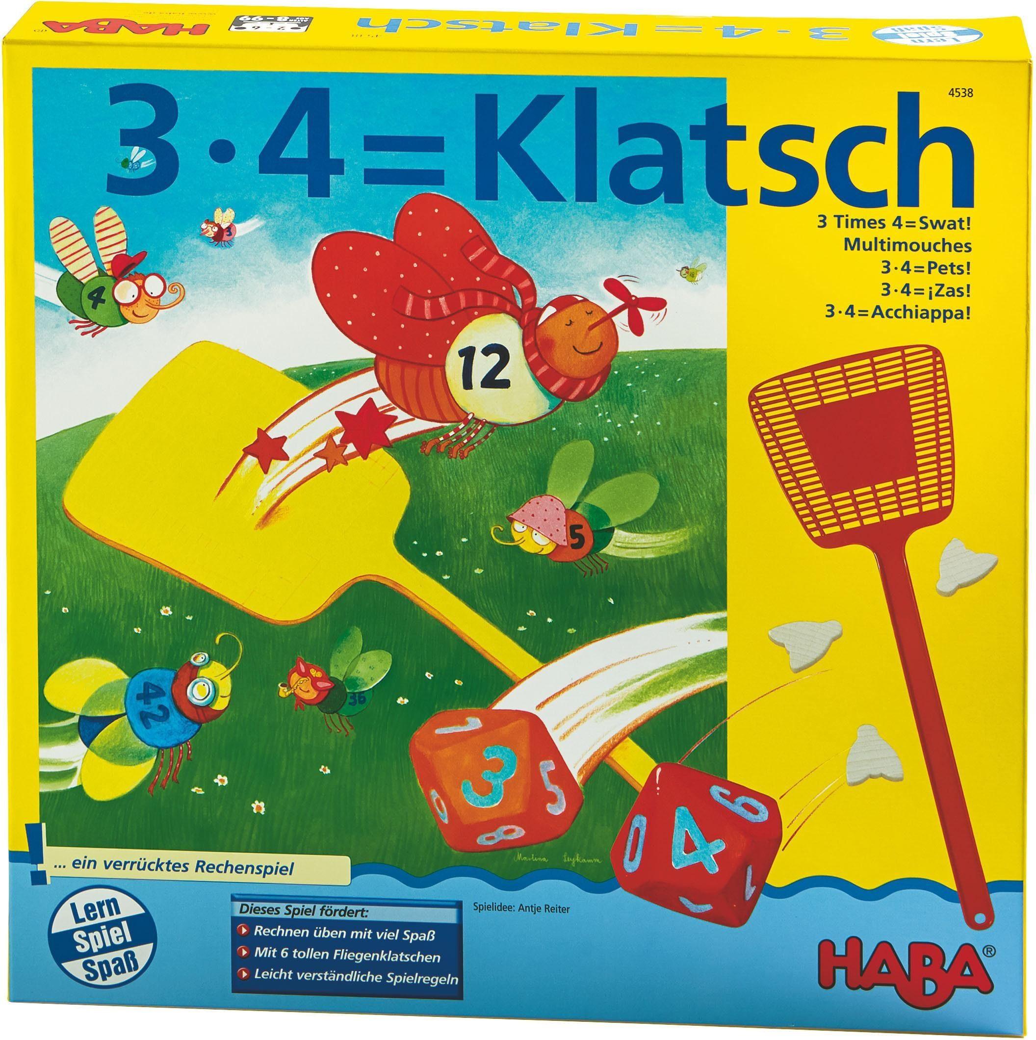 HABA® Lernspiel, »3x4=Klatsch«
