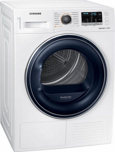 Samsung Wärmepumpentrockner DV5000 DV81M50103W/EG, 8 kg, Sensorgesteuertes Trocknen