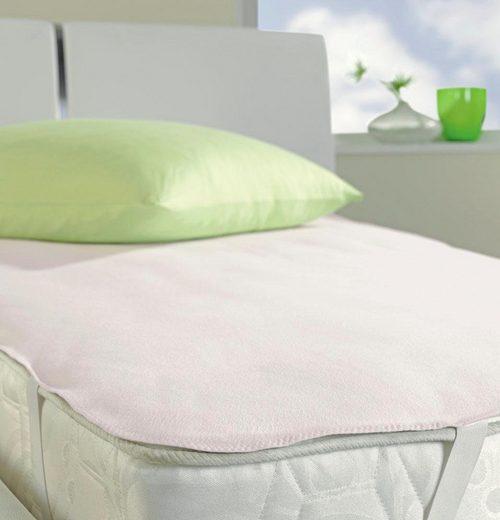 Matratzenauflage »Pure Aktiv 5516«, IBENA, 0,5 cm hoch, Baumwolle, Wasserdicht