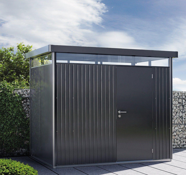 BIOHORT Stahlgerätehaus »Highline H4« | Garten > Gerätehäuser | Edelstahl | Biohort