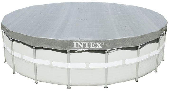Intex pool abdeckplane deluxe cover pool kaufen otto for Poolzubehor obi