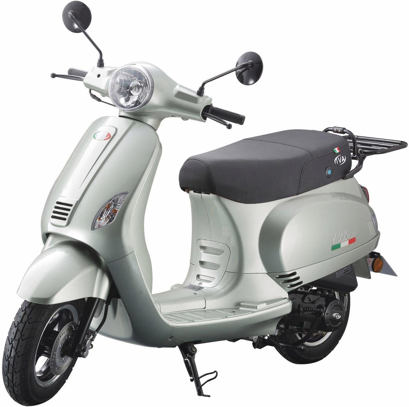 IVA Mofaroller »LUX«, 50 ccm, 25 km/h, 49 ccm, 3 PS, 25 km/h, für 1 Person
