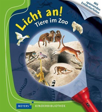 Gebundenes Buch »Tiere im Zoo / Licht an! Bd.16«