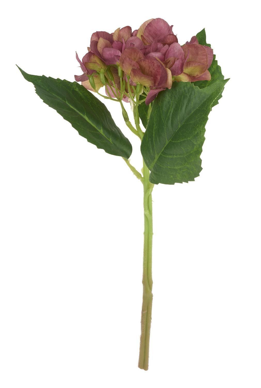 VBS Hortensie Einzelstiel Fuchsia ca. 34 cm Länge