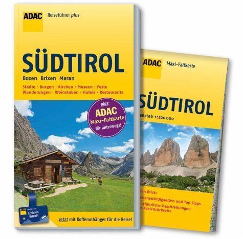 Broschiertes Buch »ADAC Reiseführer plus Südtirol«