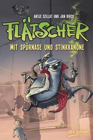 Gebundenes Buch »Mit Spürnase und Stinkkanone / Flätscher Bd.3«