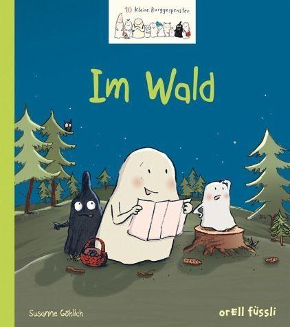 Gebundenes Buch »10 kleine Burggespenster - Im Wald«