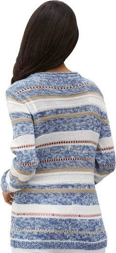 Collection L. Pullover mit Rollsaum