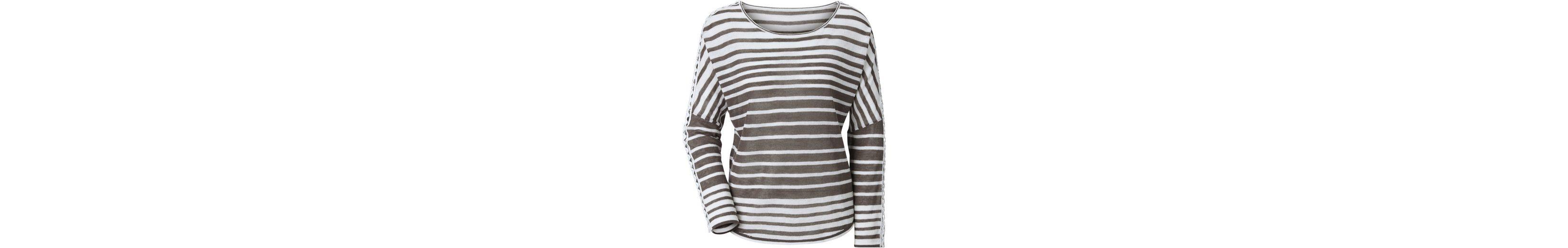 Création L Pullover im stimmigen Streifendessin Finish Zum Verkauf Günstiger Preis Auslass Laden Verkauf Rabattpreise Original Günstiger Preis XXA9kT