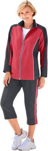 Catamaran Leisure Suit With Contrast-inserts