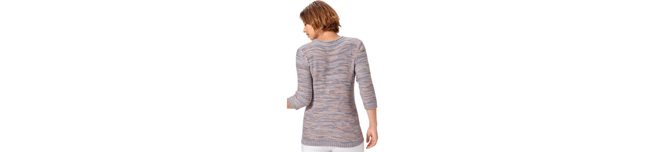 Lieferung Frei Haus Mit Paypal Classic Basics Pullover mit 3/4-Ärmeln Niedrig Kosten Günstig Online In Deutschland Verkauf Bestseller Erschwinglich Q46R4