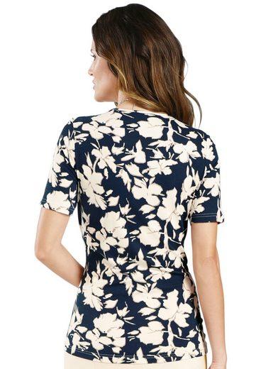 Lady Shirt floral bedruckt