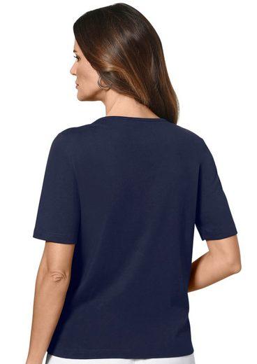 Lady Shirt mit Zierplättchen