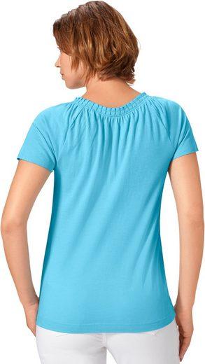Classic Basics Shirt mit kurzen Raglanärmeln