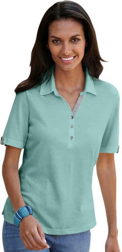 Kurzarm Damen Poloshirts online kaufen   OTTO 38603a5e77